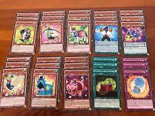 YuGiOh Lote 30 Cartas ARTISTAMIGO Español Yu-Gi-Oh! NM Ver foto para Baraja!