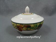 Royal Doulton Augustine covered sugar bowl.
