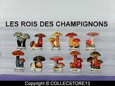 SERIE COMPLETE DE FEVES  LES ROIS DES CHAMPIGNONS