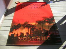 VOLCANO  PROMO MOVIE BANNER 1997  VINYL TOMMY LEE JONES ANNE HECHE APP5 FT X7 FT