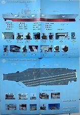 Boatswain Model 1/350 US NAVY aircraft carrier NIMITZ class Decals