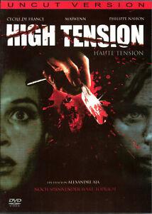 High Tension , 100% uncut , new & sealed , Haute Tension , Alexandre Aja