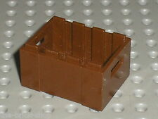 Caisse LEGO OldBrown container 30150 / set 5975 5948 5909 7419 7414 6520 7186...