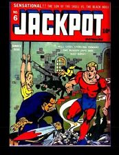 Jackpot Comics #6: Classic Golden Age Comic 1942 #5Fy