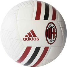 adidas Capitano 2017 - 2018 Soccer Ball  AC Milan Edition White - Red Size 5