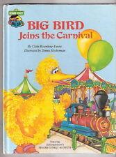 Sesame Street  BIG BIRD JOINS THE CARNIVAL  1985  Muppets Ex++