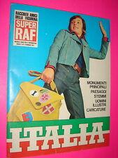 Album ITALIA SUPER RAF 1975 da edicola con bustina