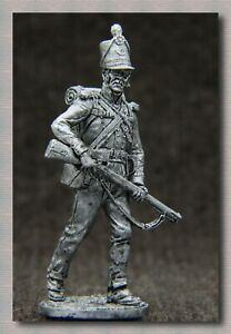 Tin soldier Napoleonic Wars (54 mm,1/32)# NAP 85 Great Britain,Private of the 95