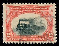 momen: US Stamps #295 Used SUPERB Jumbo
