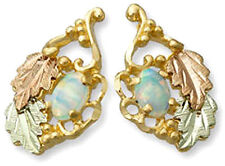 Landstrom's® Tri-color 10K Black Hills Gold Opal Earrings