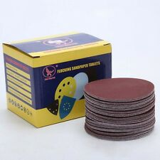 100 PCS Sanding Pad 4*100mm Velcro Sanding Discs Self Adhesive Sand Paper