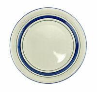 "Tienshan Stoneware Country Crock Salad Plates Blue Green 7 3/4"" Farmhouse Lot 4"