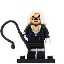 Black Cat Minifigure - Marvel Comics Spiderman Figure Custom Lego Minifigures