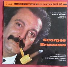 """GEORGES BRASSENS LP ORIG 25 CM  10 """"  N° 4"""
