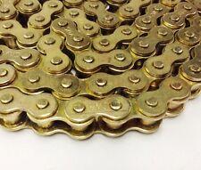 Motorcycle Pit Bike Drive Chain 420-100 Gold for Shineray Pit Bike XY50 PYiE