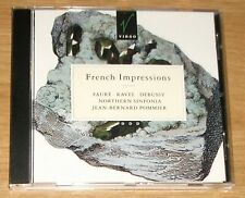 French Impressions - Debussy, Faure, Ravel - Northern Sinfonia / Pommier CD