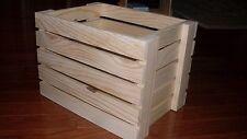 Pine Wood Crates