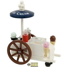 Ice Cream stand / Cart   Ice Cream market kart   Kit Made With Real LEGO