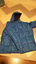 Mens Columbia Omni Heat Interchange Hooded Snow Jacket 4X | Blue - Very Nice