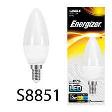 10 x Energizer 5.5w LED SES E14 Screw Cap Candle Energy Saving Light Bulb 40w