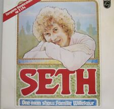 SETH GAAIKEMA - ONE MAN SHOW: FAMILIE WILLEKEUR  -  2 LP