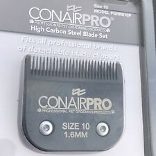 New listing Conairpro High Carbon Steel Blade Set Size 10 1.6Mm Detachable Blade Replacement