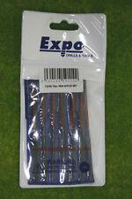 Expo Tools 10 piece MINI NEEDLE FILE SET 72536