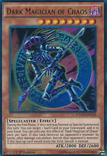 Dark Magician of Chaos Ultra Rare  Yugioh Card YGLD-ENC02