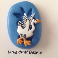 Silicone Mould Spring Farmyard Goose Sugarcraft Cupcake Topper Fondant Sculpey