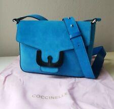 Coccinelle Echtleder Wildleder Tasche Minibag Crossbody Umhängetasc in...