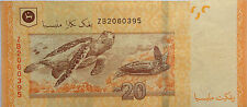 RM20 Zeti sign Replacement Note ZB 2060395