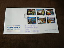 2002 Alderney First Day Cover: Community Services II, Emergency Medical Services
