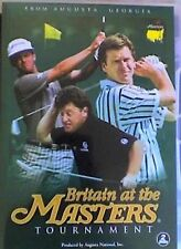 THE1988 89 90 91 US MASTERS DVD R4 GOLF NICK FALDO GREG NORMAN JACK NICKLAUS