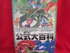 Pokemon Emerald official encyclopedia art book/GBA