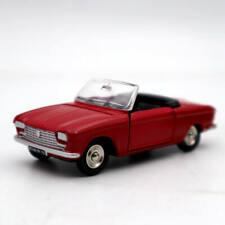 Atlas Dinky Toys 511 Cabriolet 204 Peugeot Red Diecast models car 1:43