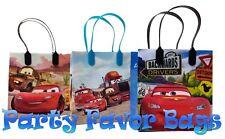 6pcs MCQUEEN CARS DISNEY MEDIUM REUSABLE PARTY FAVOR GOODIES BAG PREMIUM QUALITY