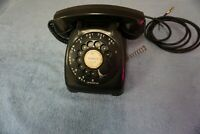 VINTAGE BLACK ROTARY DIAL AUTOMATIC ELECTRIC TELEPHONE