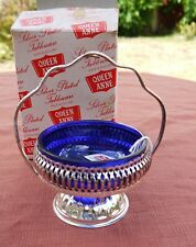 "Queen Anne Tableware  ""Silver Plated Jam Dish"""