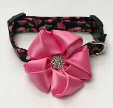 As Pretty As A Rose Dog Collar Size XS-L by Doogie Couture