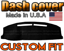 Fits 1988-1993 FORD  FESTIVA  DASH COVER MAT  DASHBOARD PAD  / BLACK