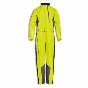 BMW Motorrad ProRain Waterproof Motorcycle Oversuit Overall Unisex Neon Yellow