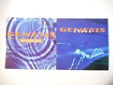 Unique Lot de 2 CD Single ▬ GENESIS ▬ Port GRATUIT