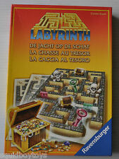 LABYRINTH La Chasse au Tresor Board Game (incomplete)
