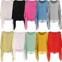 Ladies Italian Plus Size Plain Linen Tunic Top Women Lagenlook Top Plus Size S06