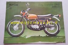 Montesa King Scorpion Automix 250 1975 depliant originale motorcycle brochure