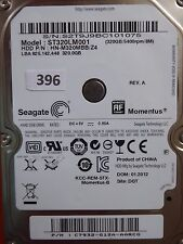 320 Go Seagate st320lm001 hn-m320mbb/z4 | P/N: c7932-g12a - aarcg | 01.2012 #396