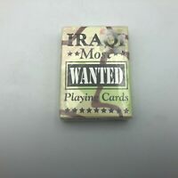 IRAQ MOST WANTED Sealed Deck Playing Cards Bicycle USA C5