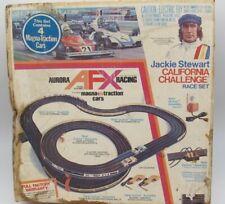 Vtg Aurora Racing 2081 AFX Slot Car Jackie Stewart California Challenge Track