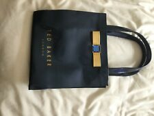 ted baker midnight blue patent bag