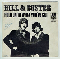 "BILL & BUSTER Vinilo 45 tours SP 7"" HOLD ON A LO QUE YOU'TIENES AM 820 ESTÉREO"